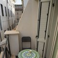 Balkon unseres Appartments im The Telegraph Suites in der Via del Mancino 11